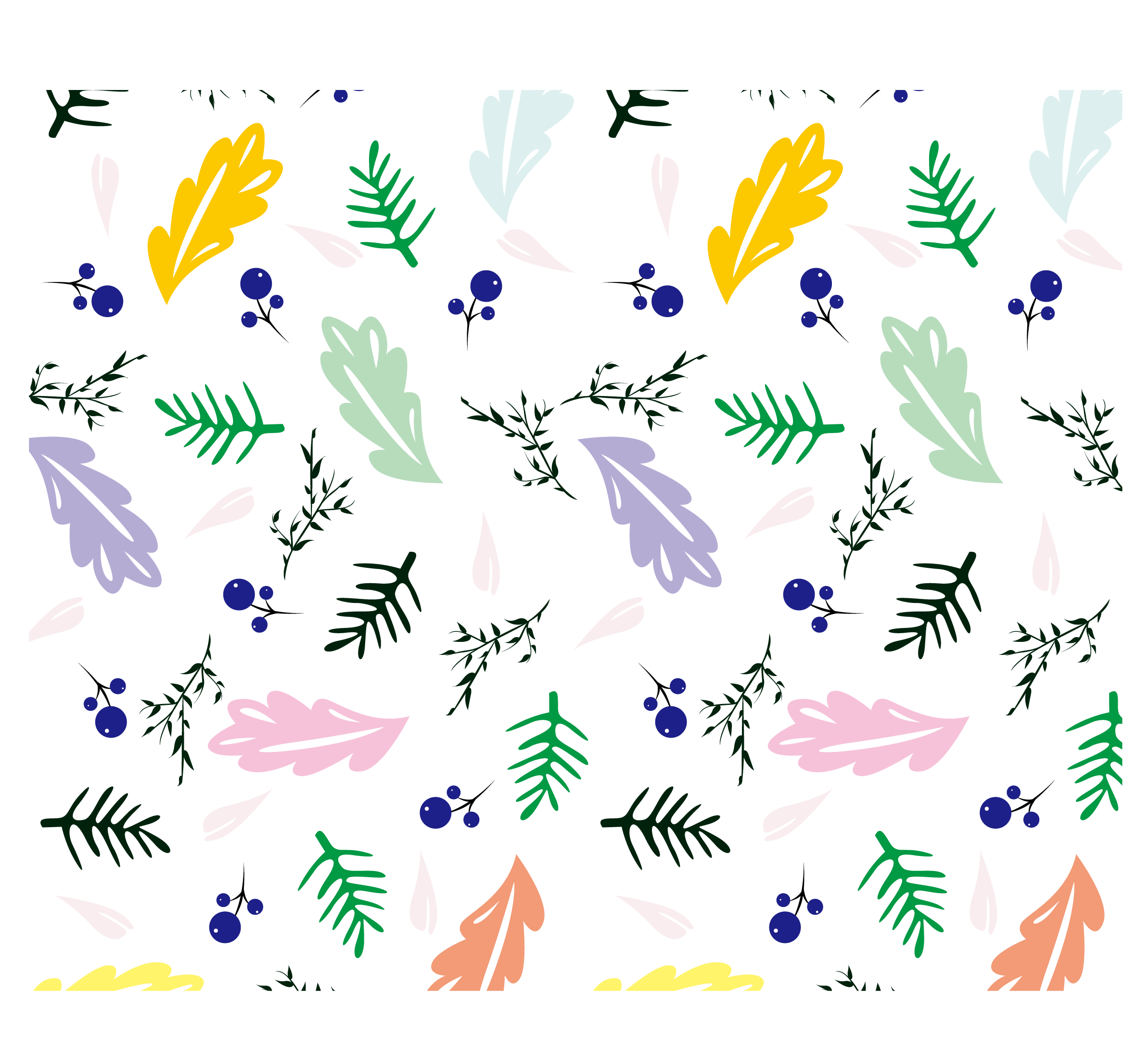 Leaf clip art leaves. Ice clipart pattern design