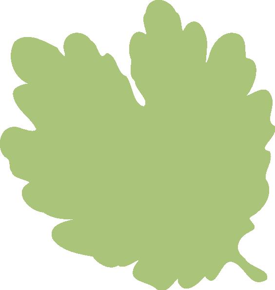 Heart shaped leaf clip. Clipart trees shape