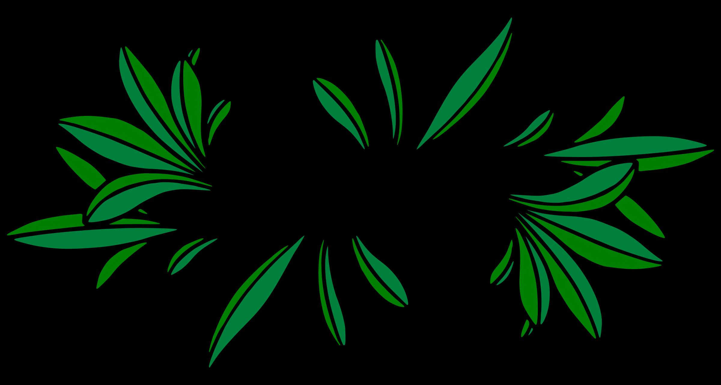 Design colour big image. Leaf clipart leafy greens