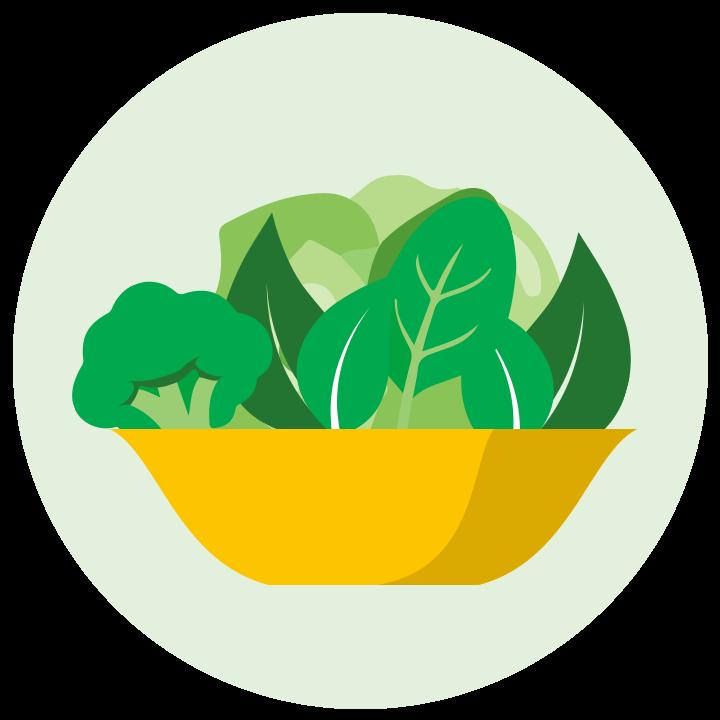 Clipart vegetables leafy vegetable. Nus university health centre