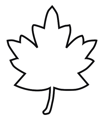 Leaves clipart outline. Free leaf cliparts download