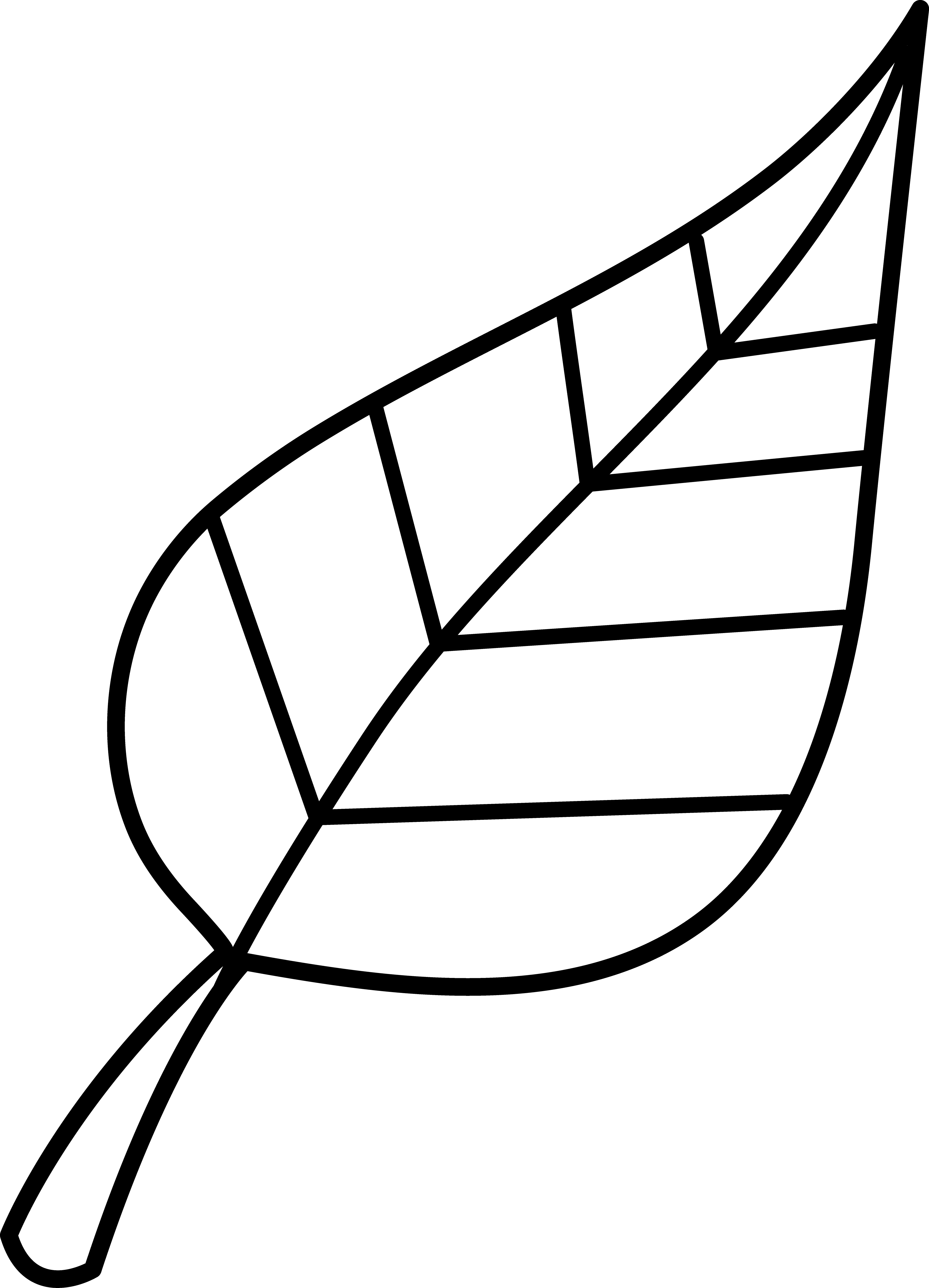 Pokemon clipart outline. Free leaves black cliparts