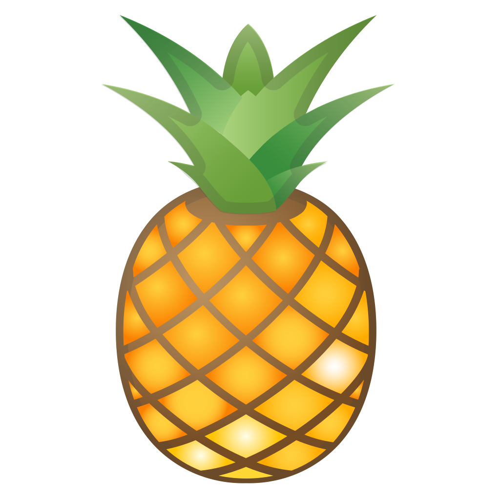 leaf clipart pineapple