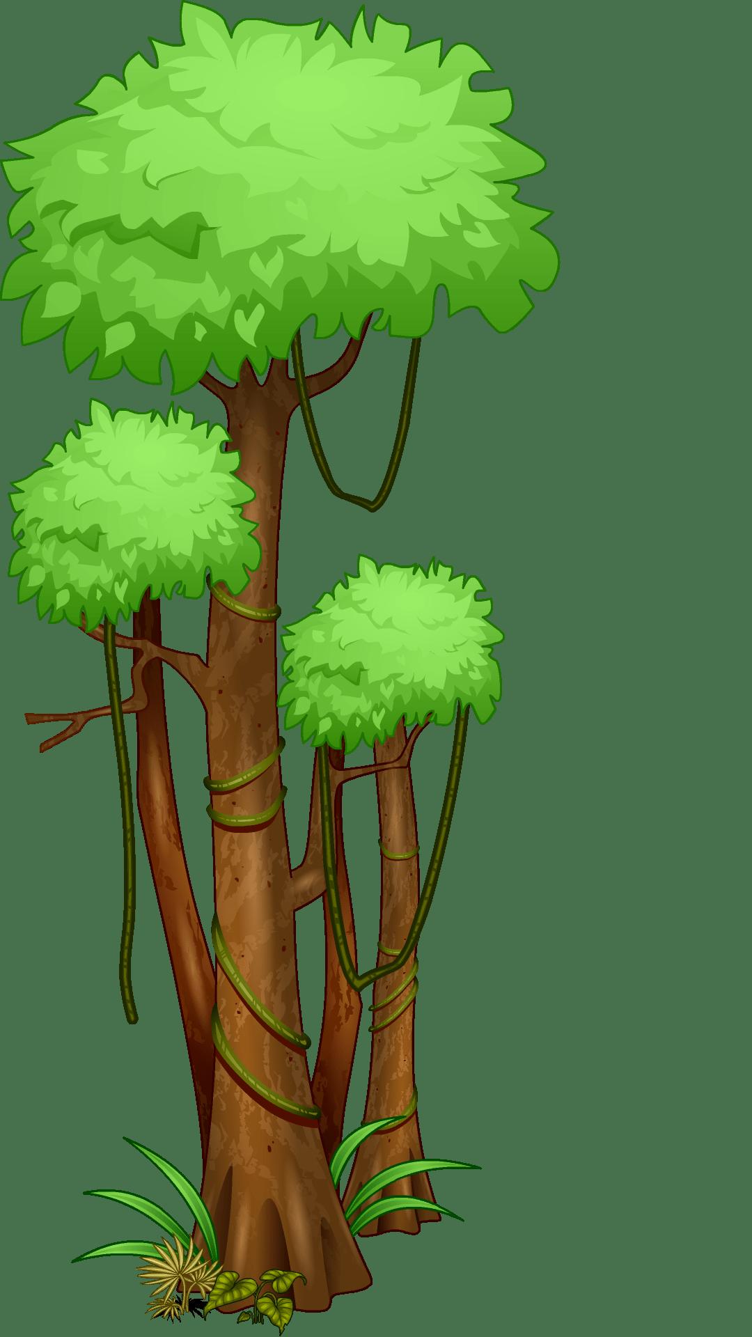 New mission the woozworld. Plants clipart rainforest