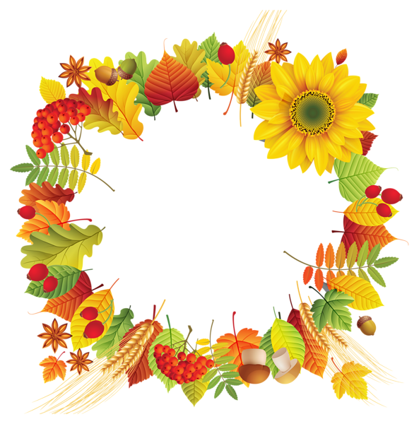 Fall oval leaves png. Clipart turkey decoration