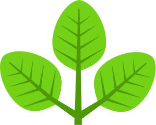 Clipart leaves 3 leaves. Leaf panda free images
