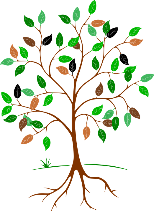 Leaves aesthetic free on. Teamwork clipart tree