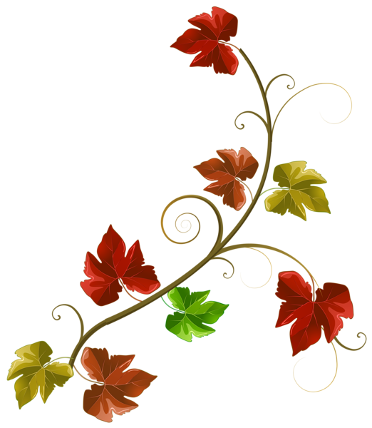 Decoration clipart leaves. Autumn png image bahan