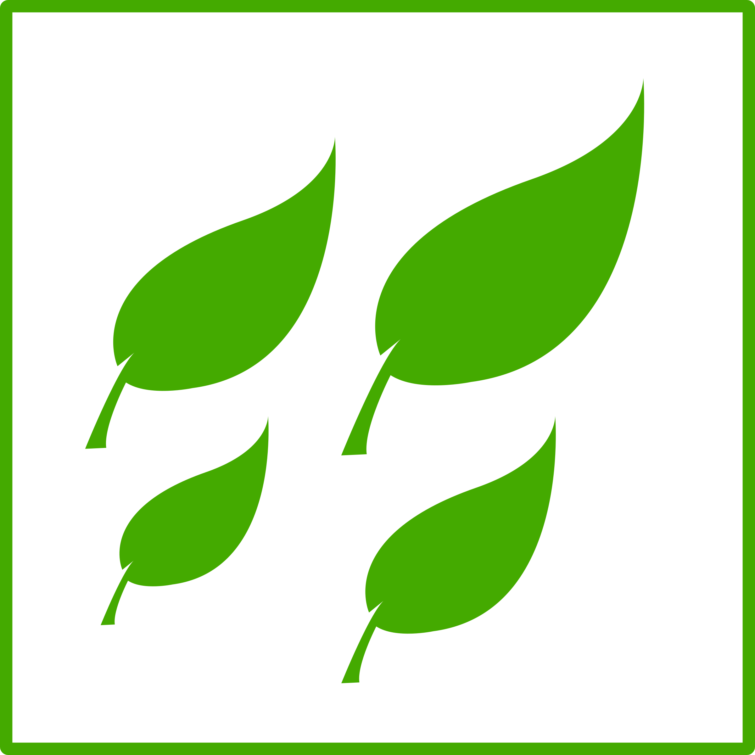 Eco green leaves big. Leaf clipart icon