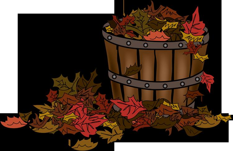 Basket of colorful pinterest. Clipart leaves fall festival