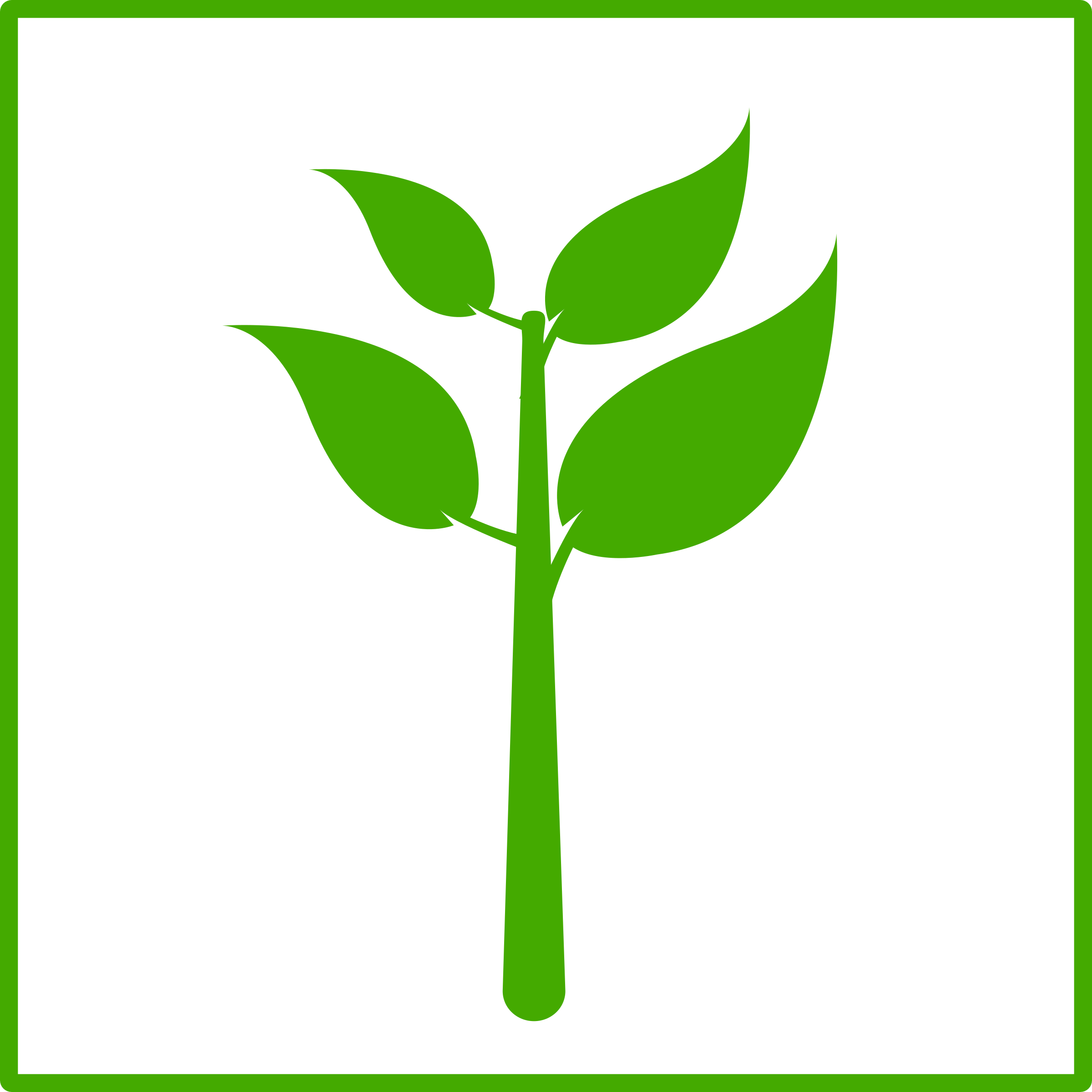 Leaves clipart stem and leaf plot. Eco green plant icon