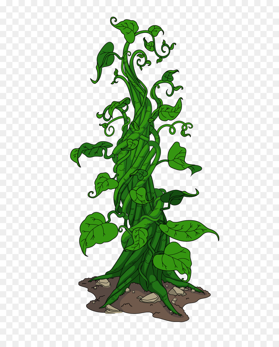 Leaf drawing tree illustration. Clipart leaves jack and the beanstalk