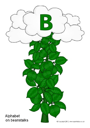 Teaching resources story sack. Clipart leaves jack and the beanstalk