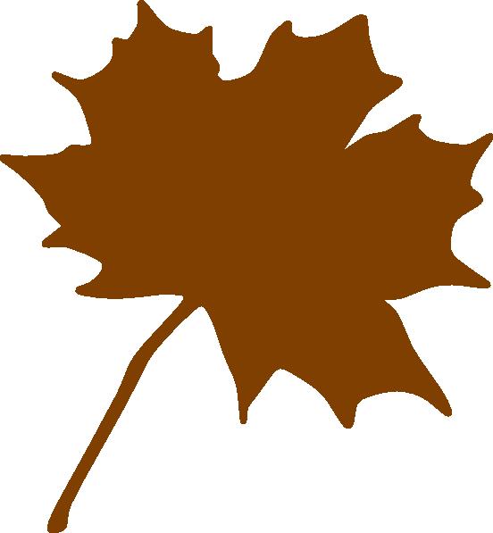 Brown leaf clip art. Clipart leaves large leave