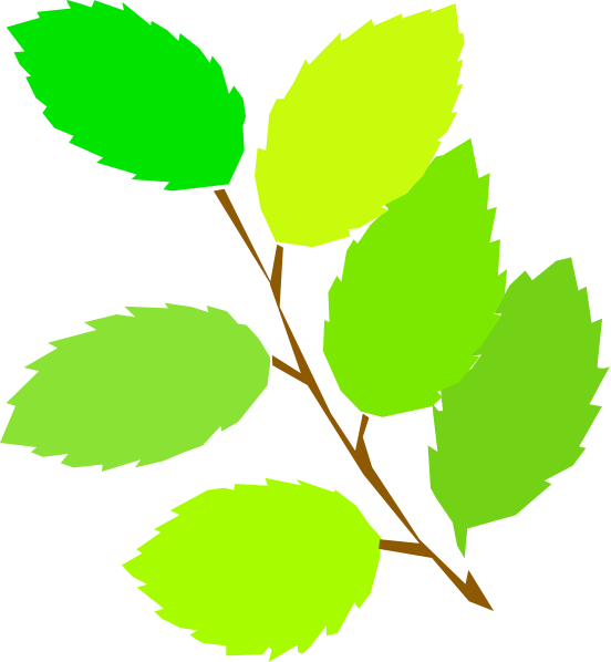 Clipart leaves large leave. New spring clip art