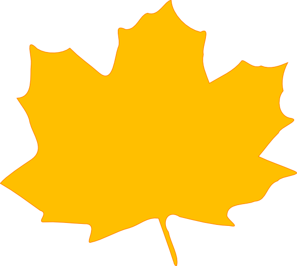 Clip art of autumn. Clipart leaves large leave