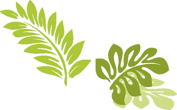 Hawaiian leaves wikiclipart . Hawaii clipart leaf