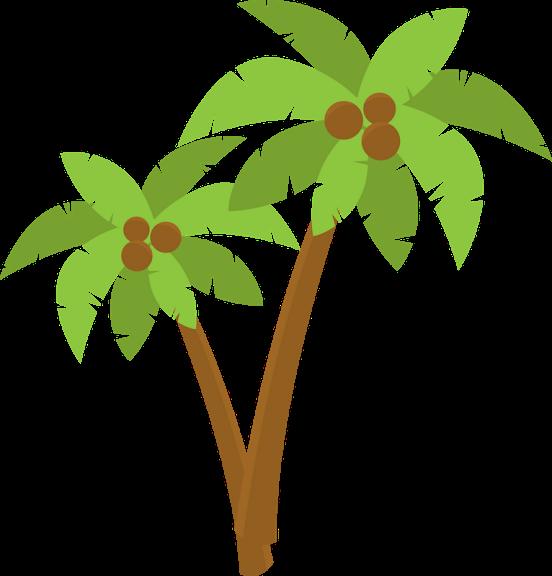 Minus say hello pinterest. Palm clipart moana