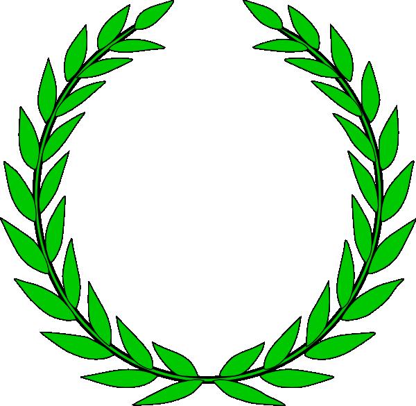 Mint clip art at. Laurel clipart green