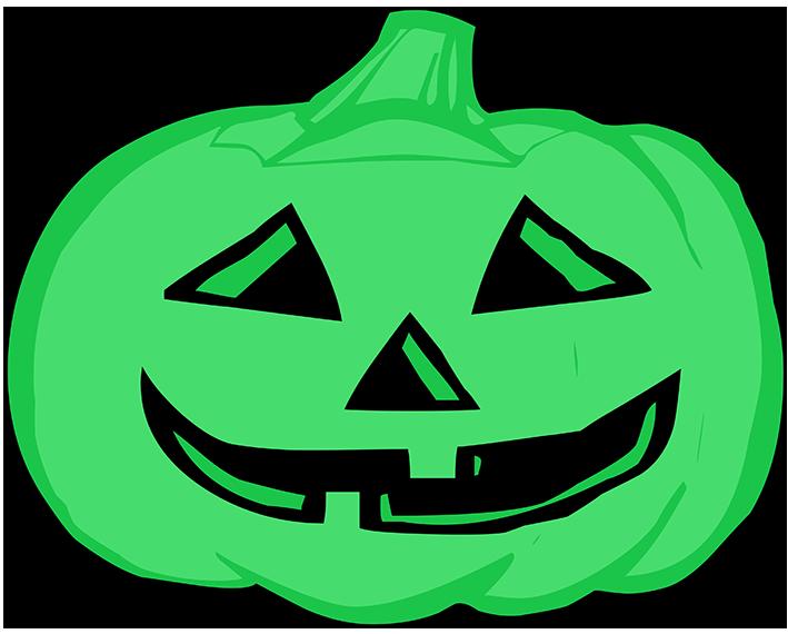 Pumpkin clipart silhouette. Happy halloween lila head