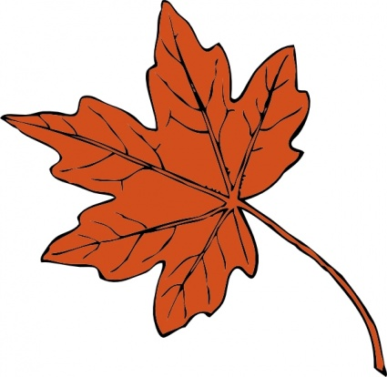 September clipart 5 leave. Free autumn leaves weather