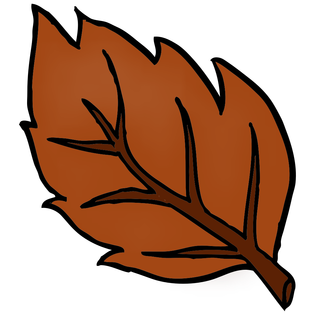 File leaf svg wikipedia. Thumb clipart brown