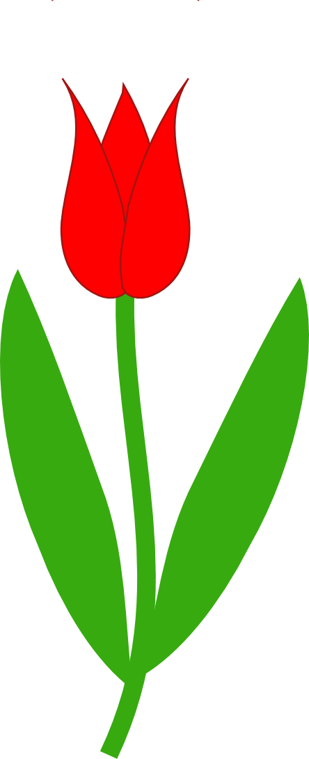Clipart leaves tulip. Clipartist net clip art