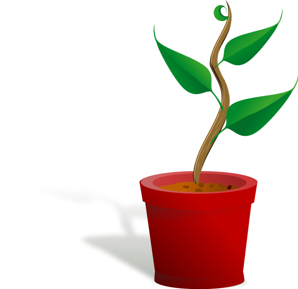 Plants clip art free. Dirt clipart small plant