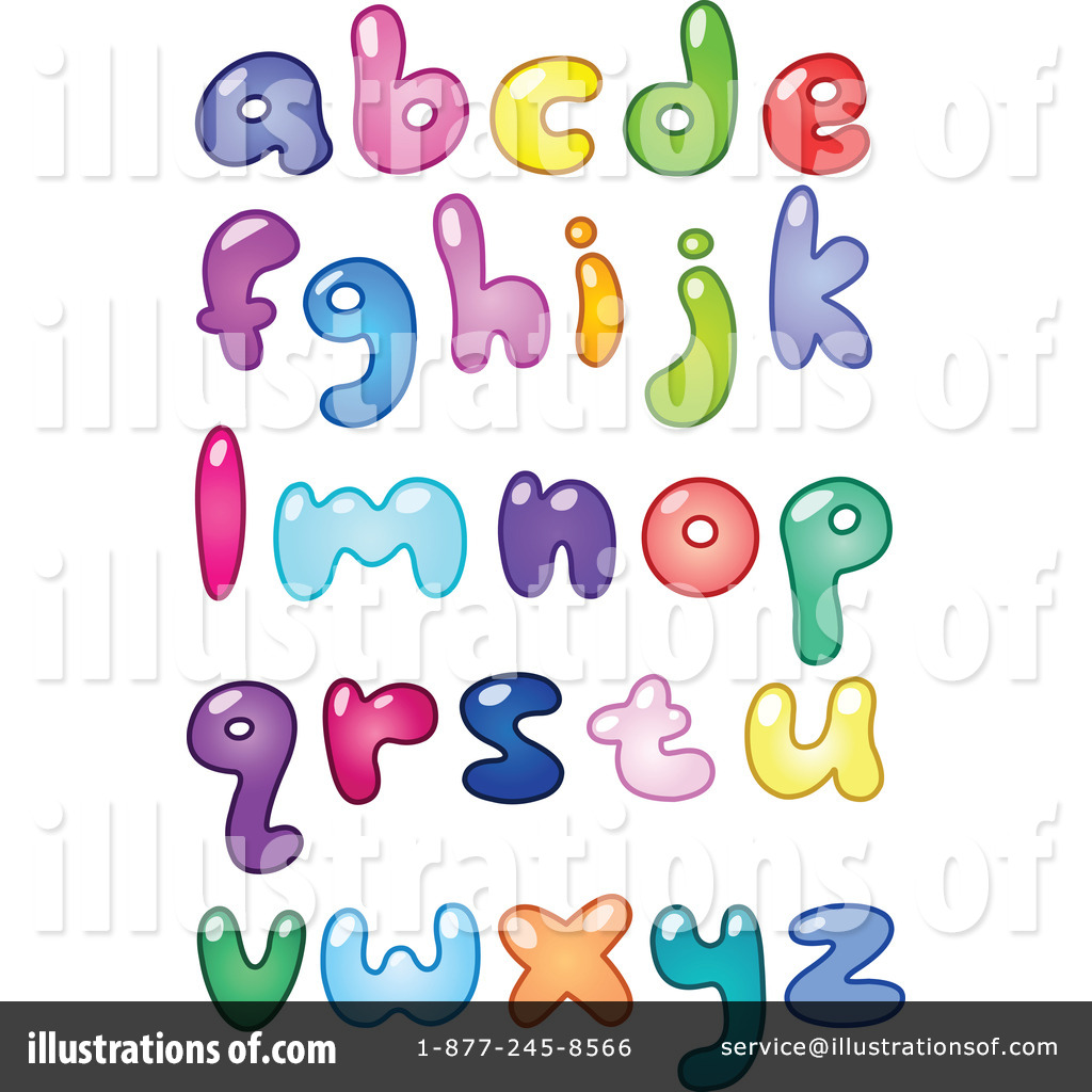 Illustration by yayayoyo royaltyfree. Clipart letters