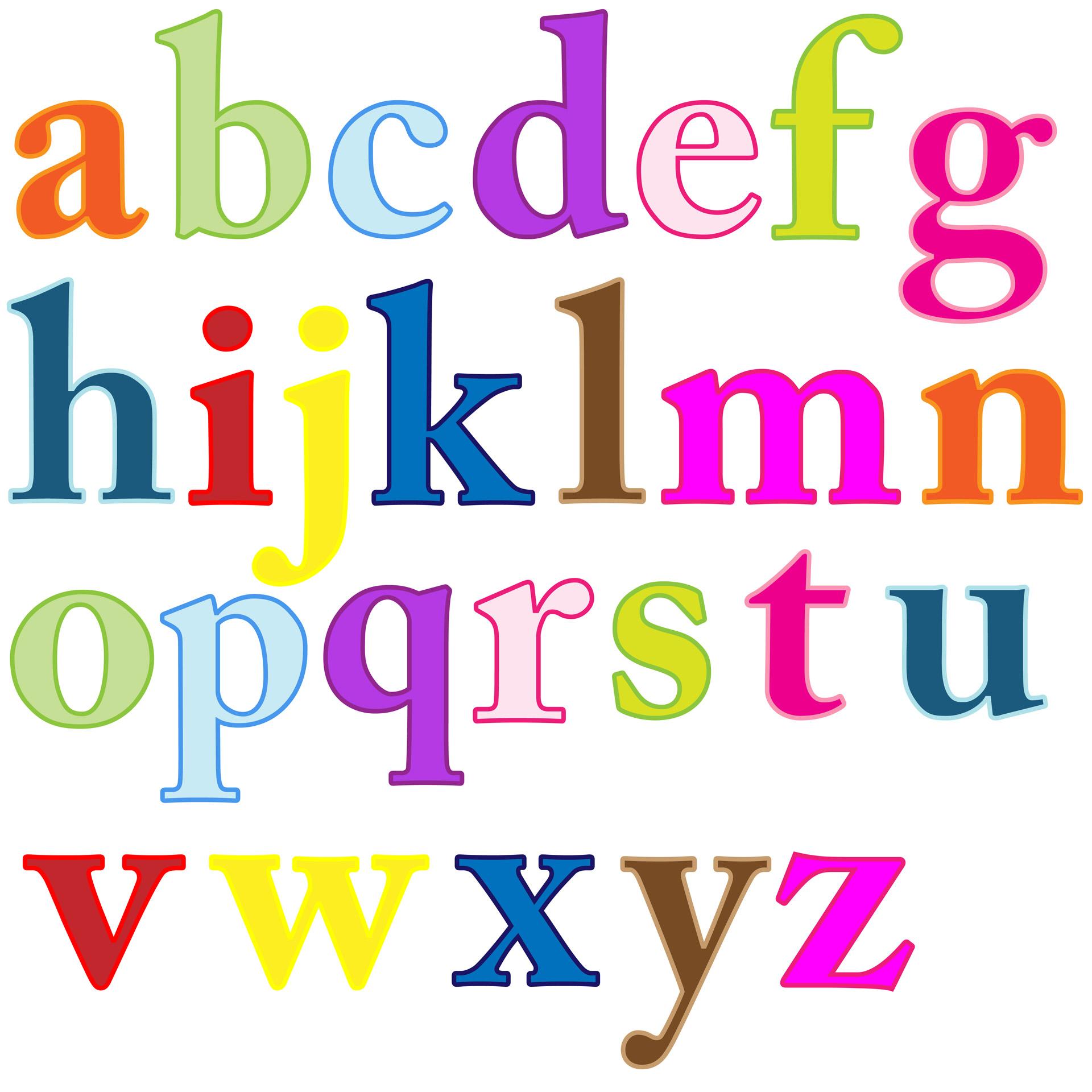 Letters clipart. Alphabet clip art free