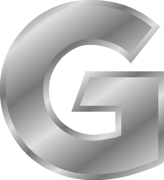 Effect letters silver clip. Letter clipart alphabet