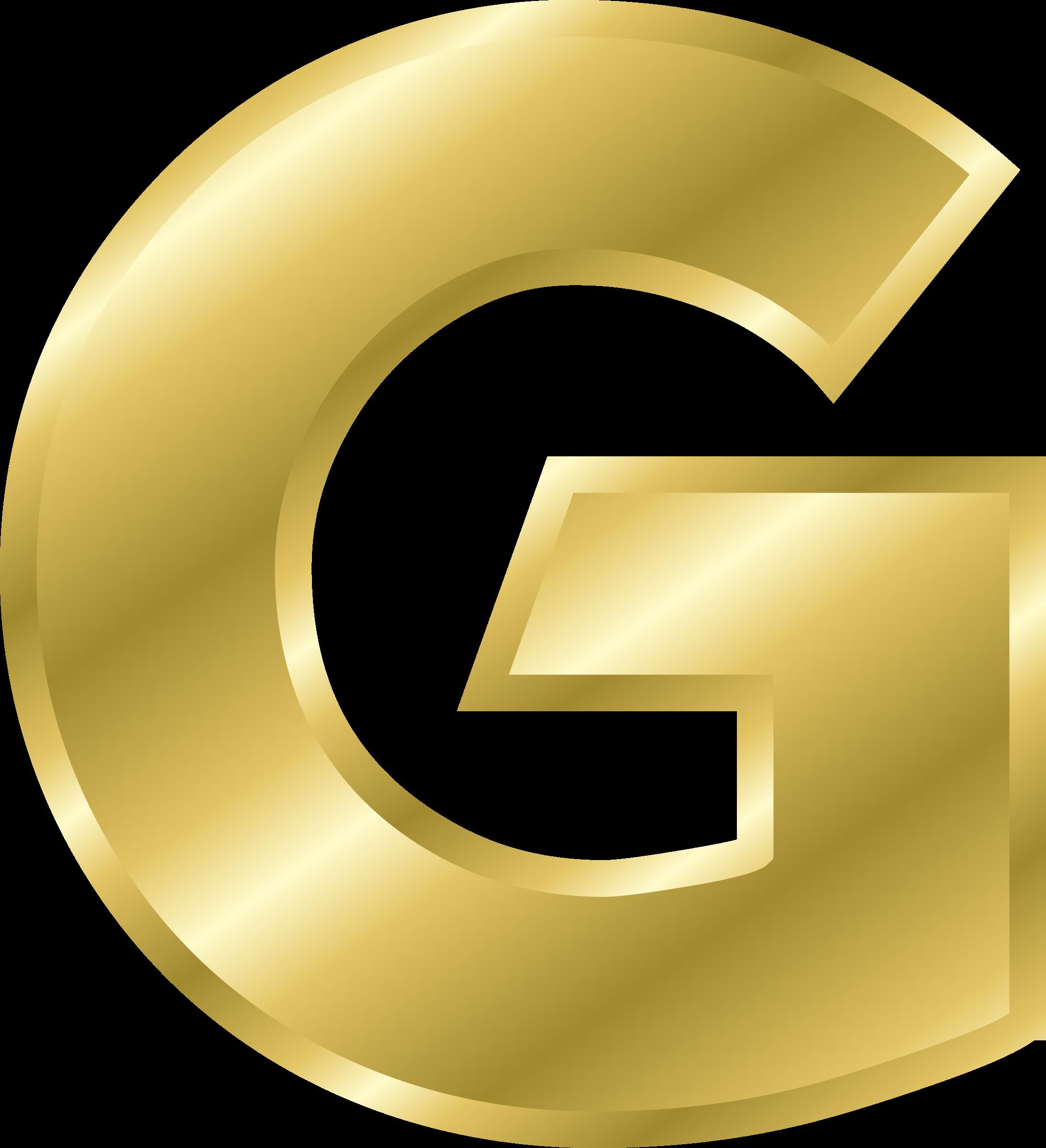 Letters clipart official letter. Gold alphabet clip art