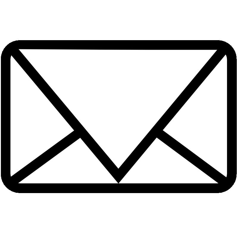 collection of alphabet. Envelope clipart fancy