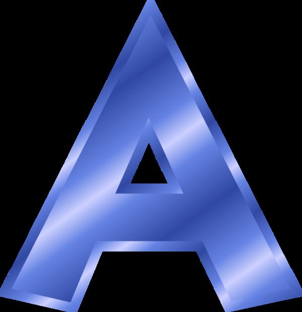 Clipart Letters Blue, Clipart Letters Blue Transparent