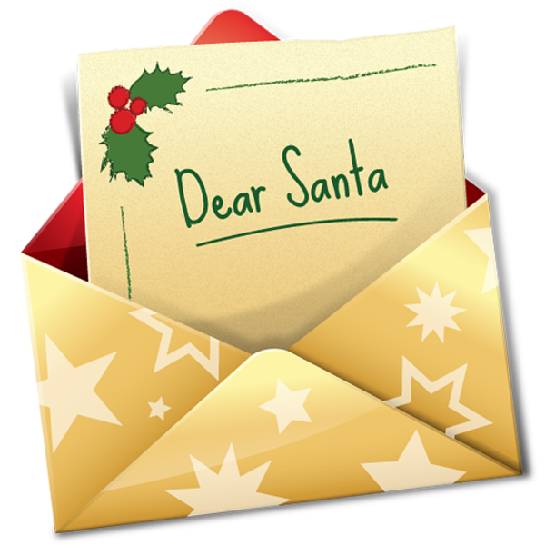 Envelope clipart written letter. Christmas free images at