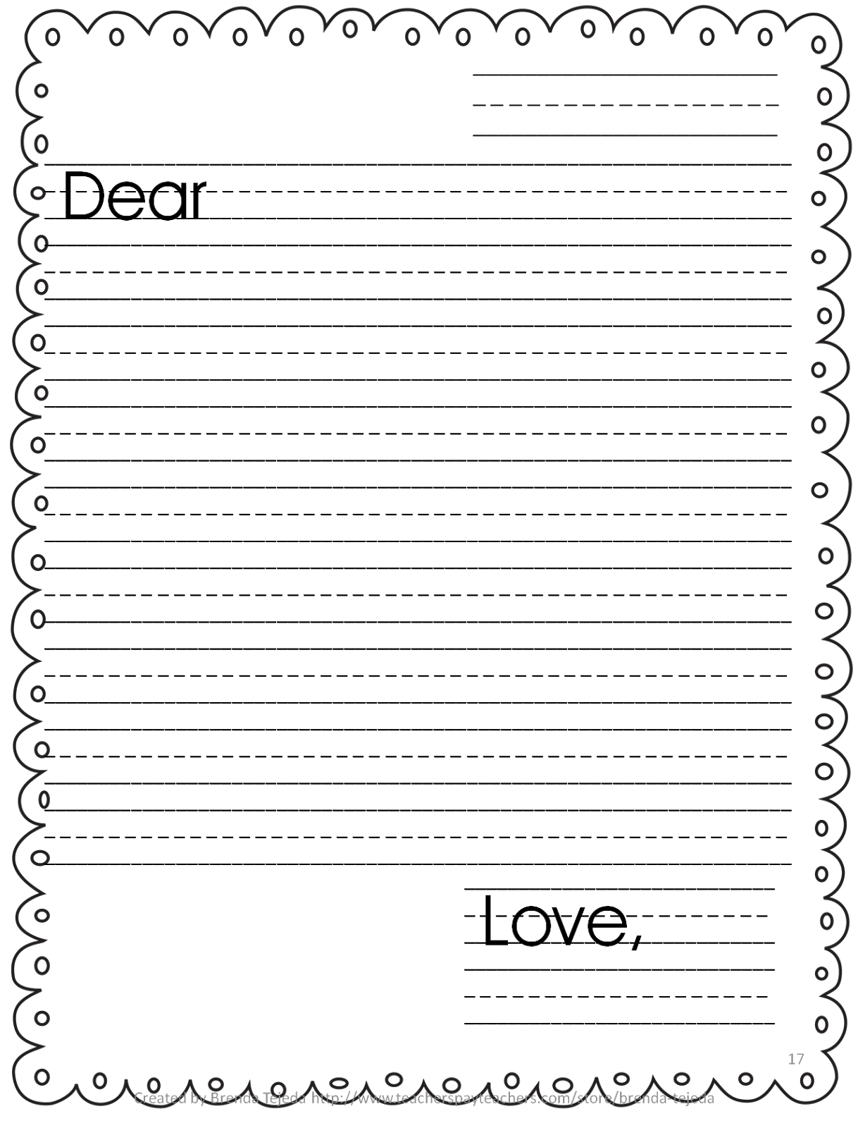 Letter template datariouruguay practice. Clipart writing paper form
