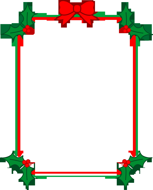 Holiday clipart festive season. Christmas ribbon png frame