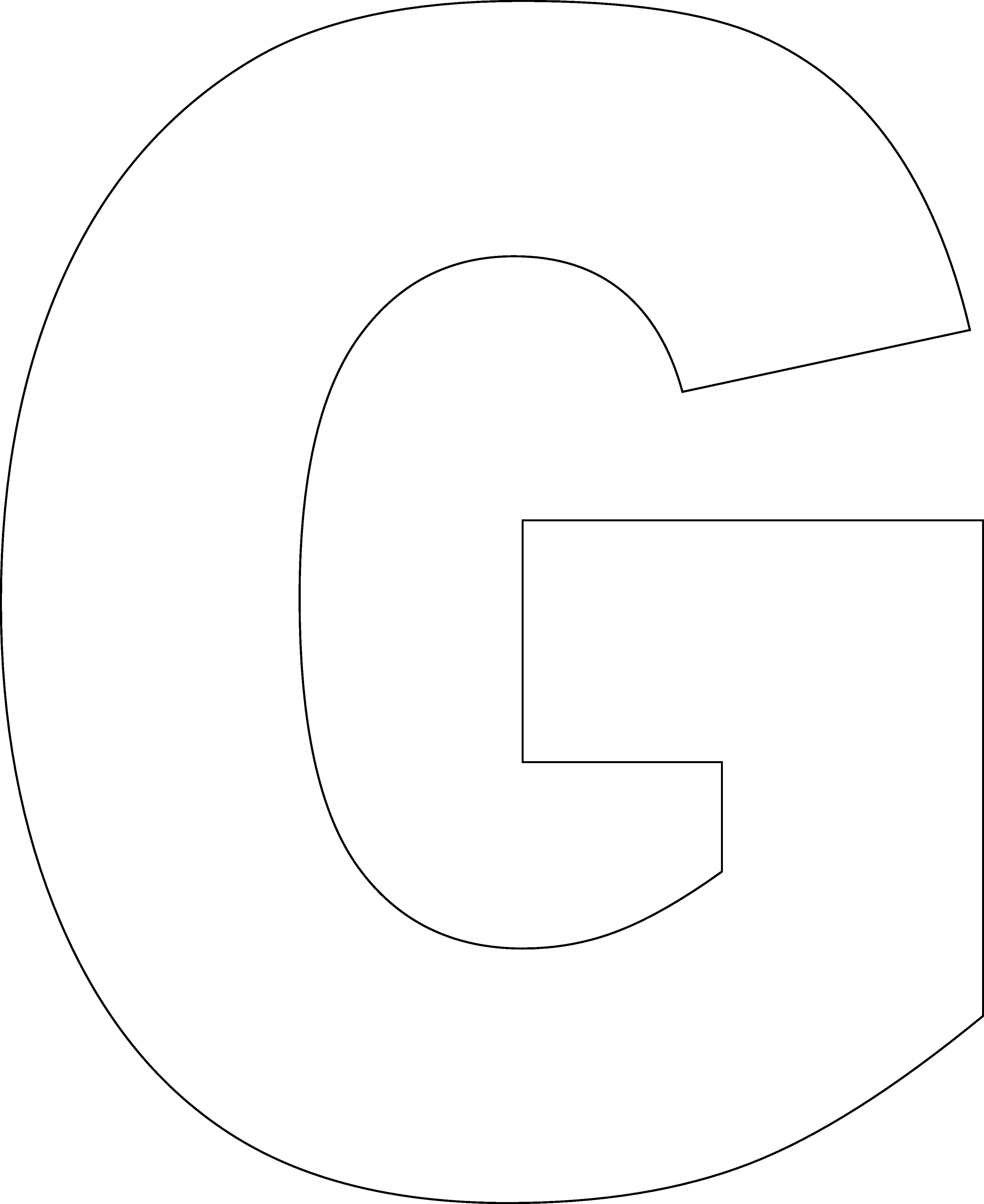 R clipart large letter. Free printable block alphabet