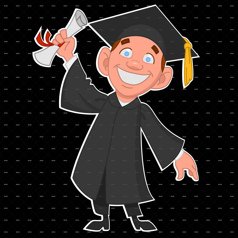 Ceremony graduate university diploma. People clipart graduation