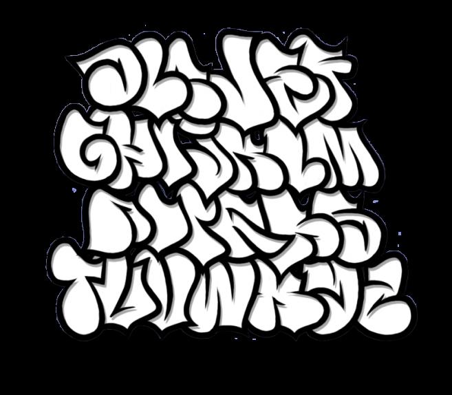 Graffiti clipart cool graffito. Bubble letter fonts design