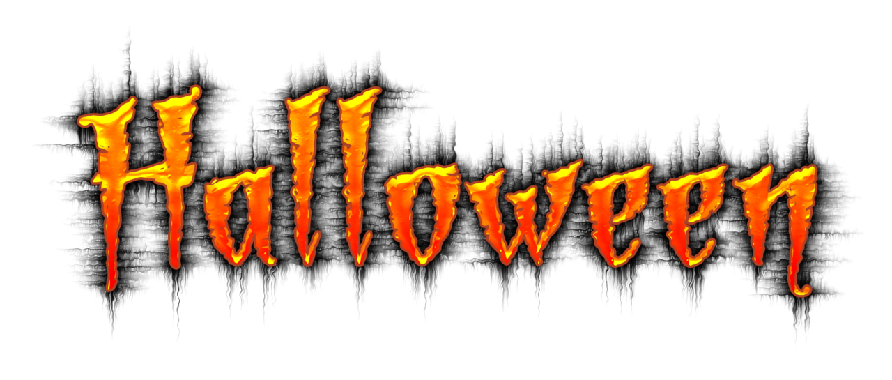 Word halloween acur lunamedia. Words clipart mat