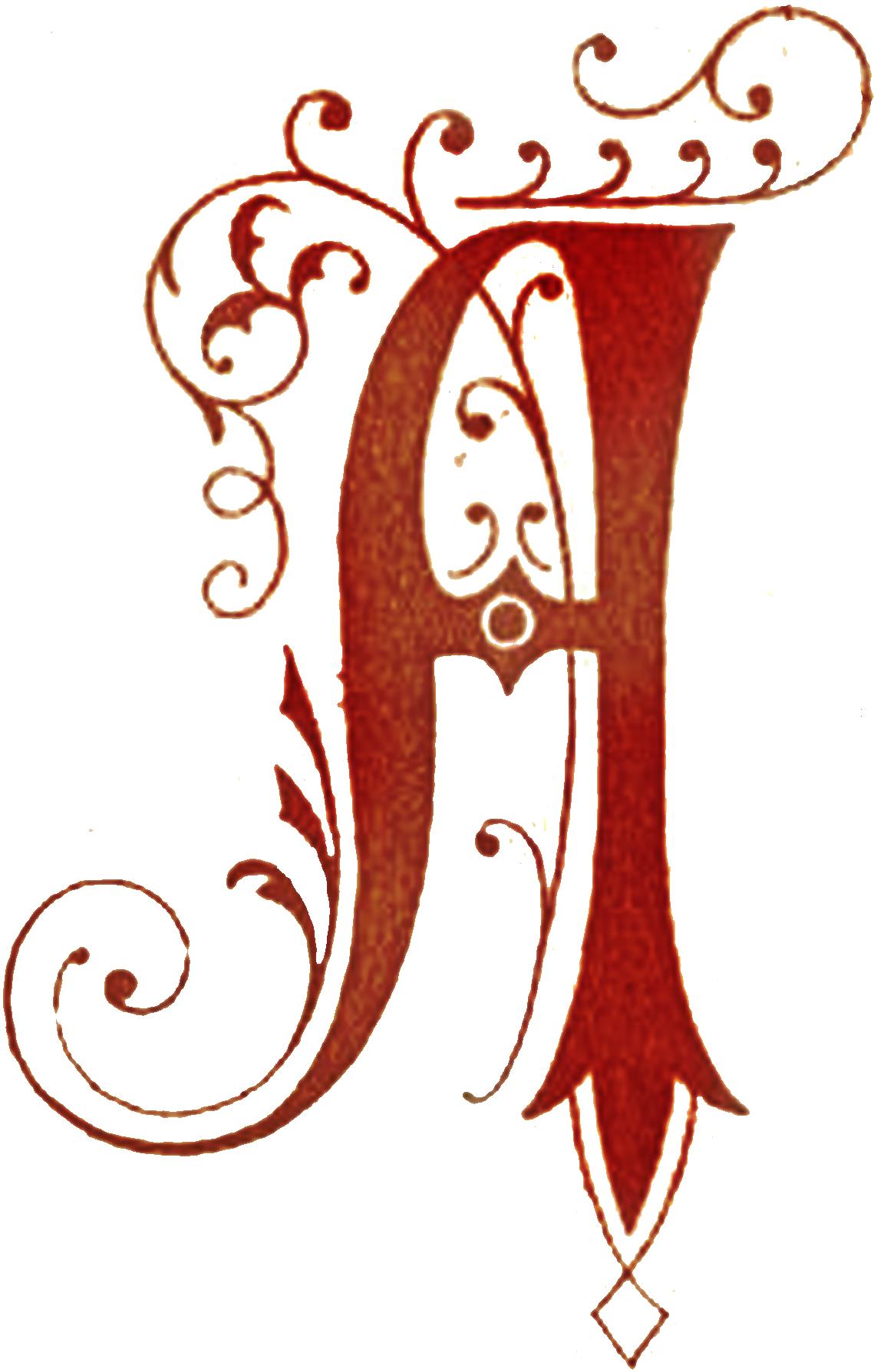 E clipart fancy writing. Drop caps capital letter