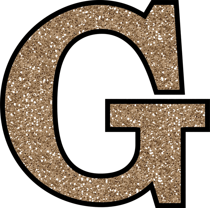 Glitter without the glue. Number 2 clipart glittery