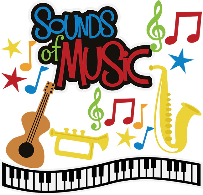 Words clipart music. Sounds of svg musical