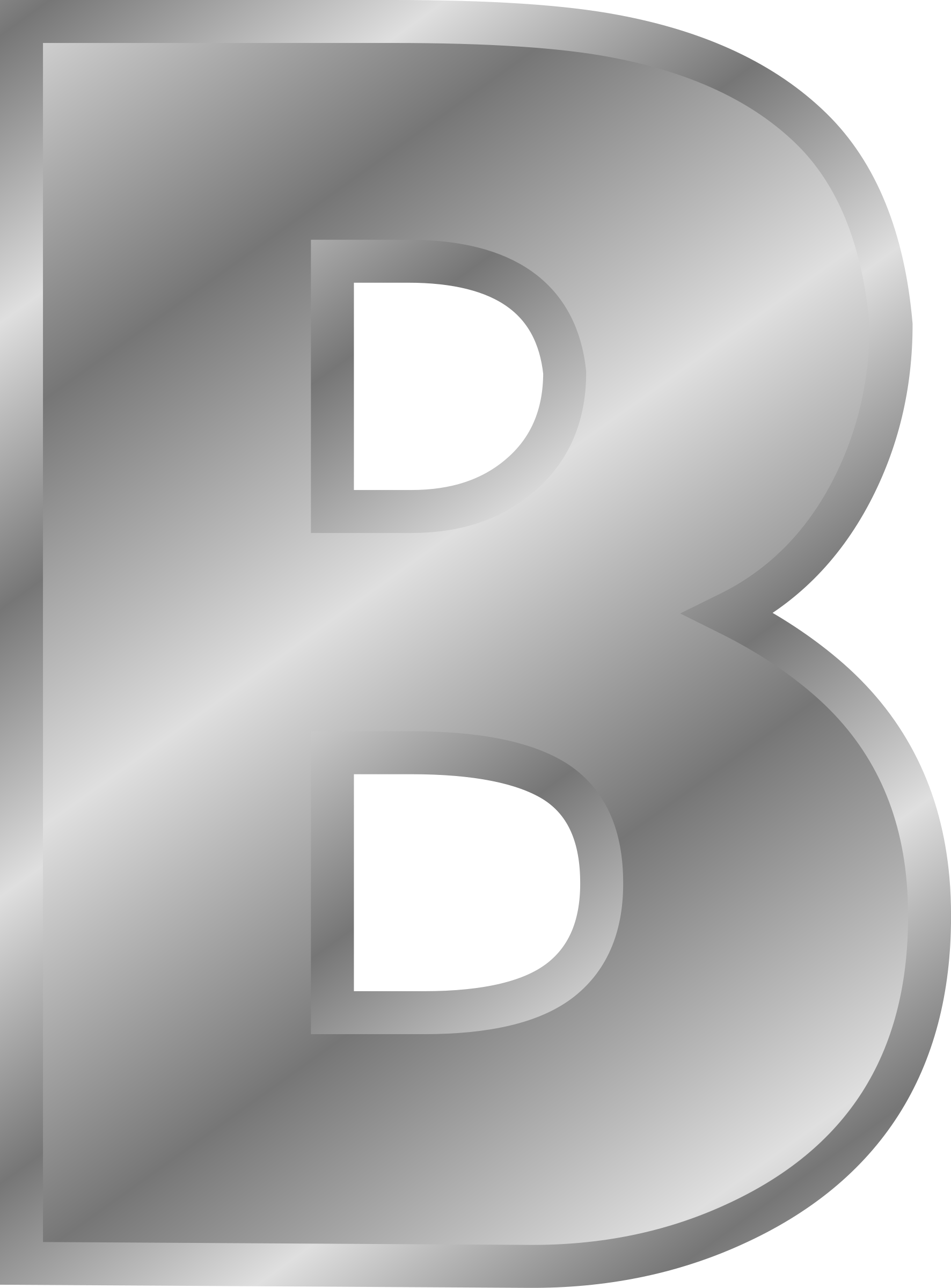 Effect alphabet silver big. Letters clipart official letter