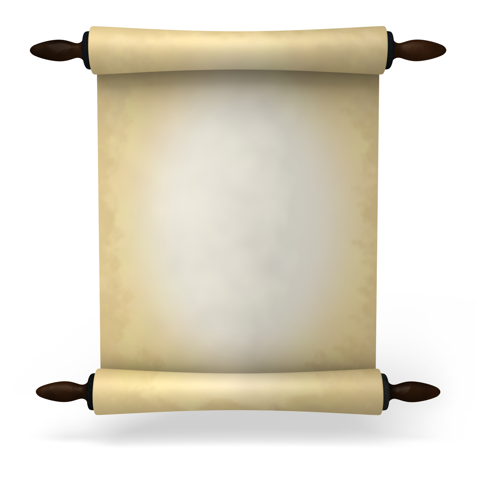 Ancient letter roll png. Paper clipart plus