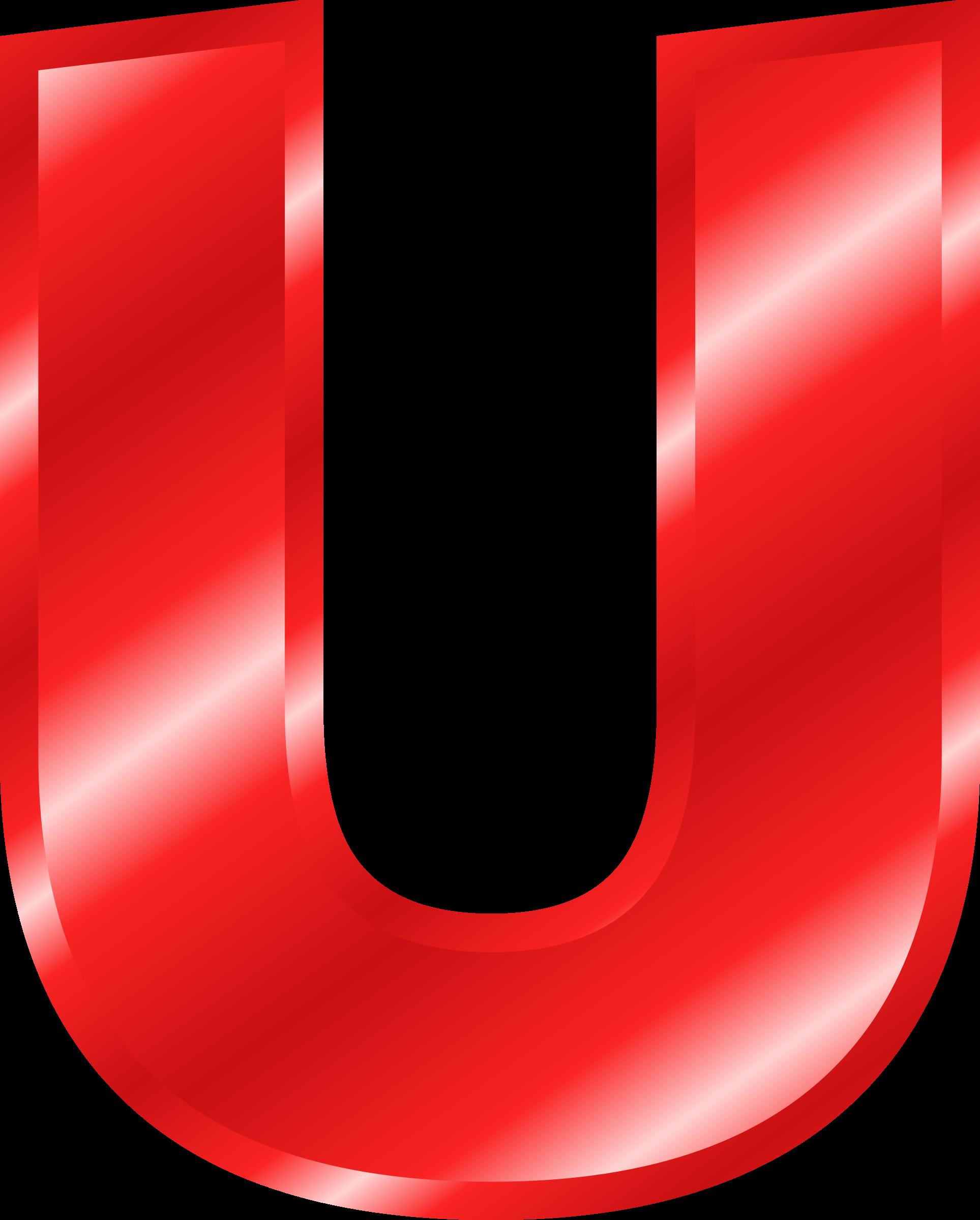 E clipart red letter. Effect letters alphabet big