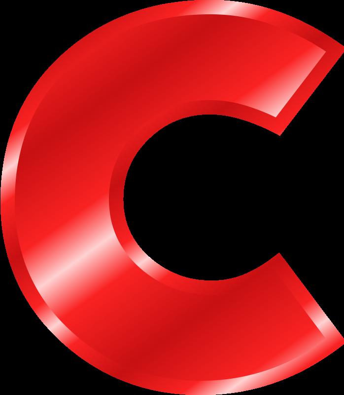 Free printable alphabet cliparts. C clipart clip art
