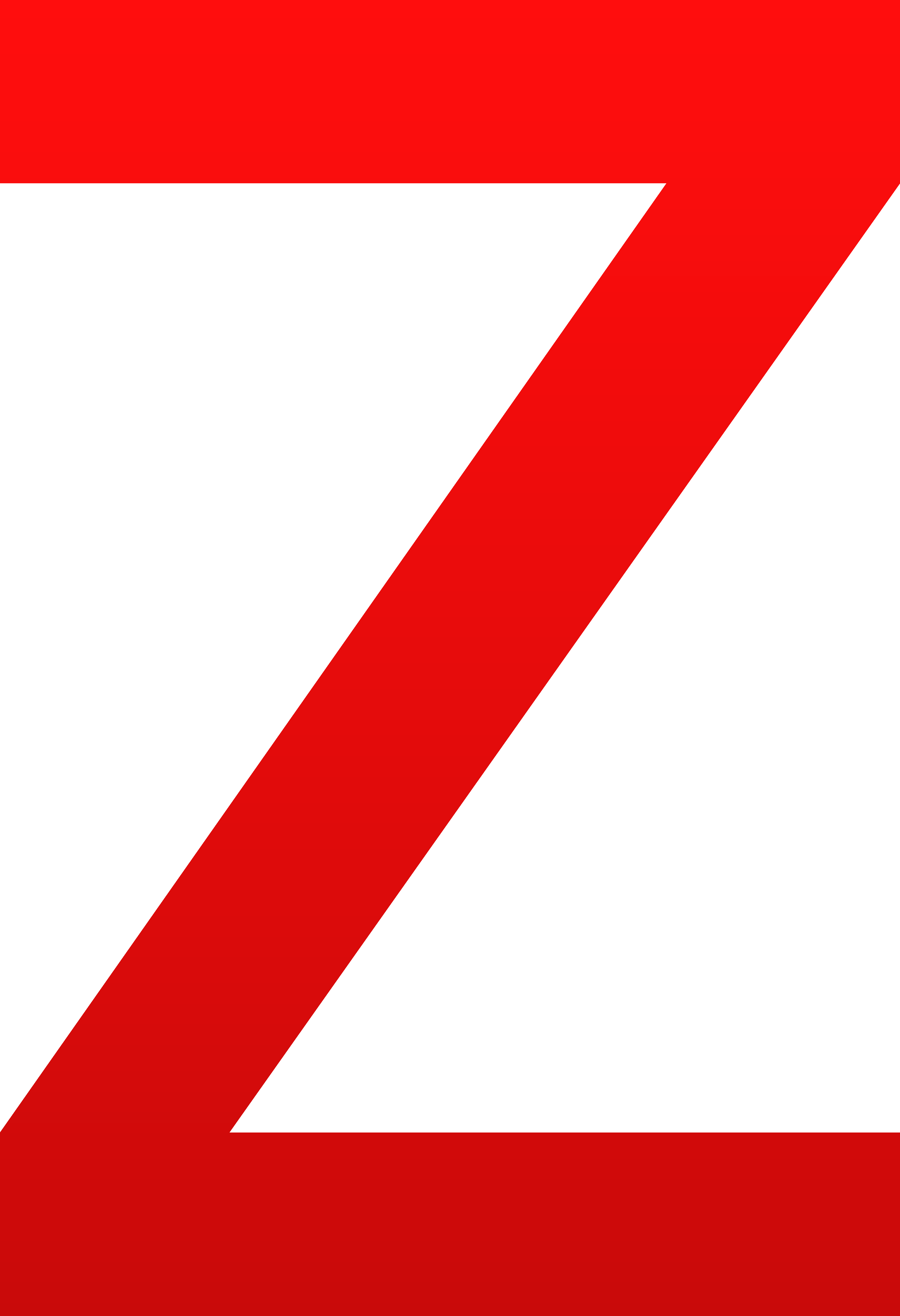 The letter z free. Clipart sword red