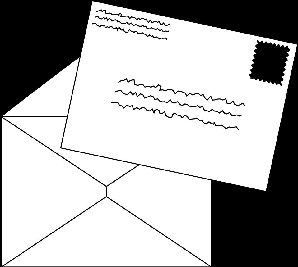 Envelope clipart format. Free stock photo illustration